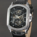 D46 Luxury mens automatic watches & Mechanical Watch male Leather