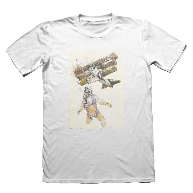 Sky Diviting Extreme Sportting T-Shirt - Mens Fathers Day Christmas Gift Brand Clothes Summer 2018