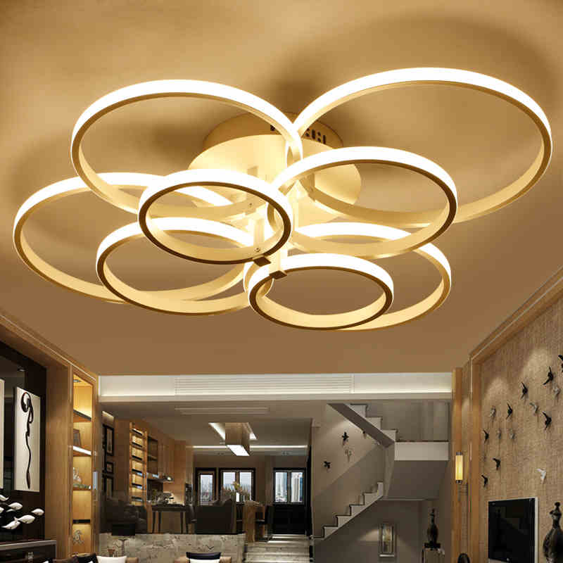 Modern simplicity acrylic LED Ceiling Lights AC85-260V luminarias para sala Ceiling Lamp for bedroom foyer lamparas de techo noosion modern led ceiling lamp for bedroom room black and white color with crystal plafon techo iluminacion lustre de plafond