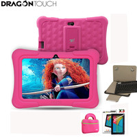 Dragon Touch Y88X Plus 7 Inch Pink Kids Tablets Quad Core CPU Android 5 1 Lollipop
