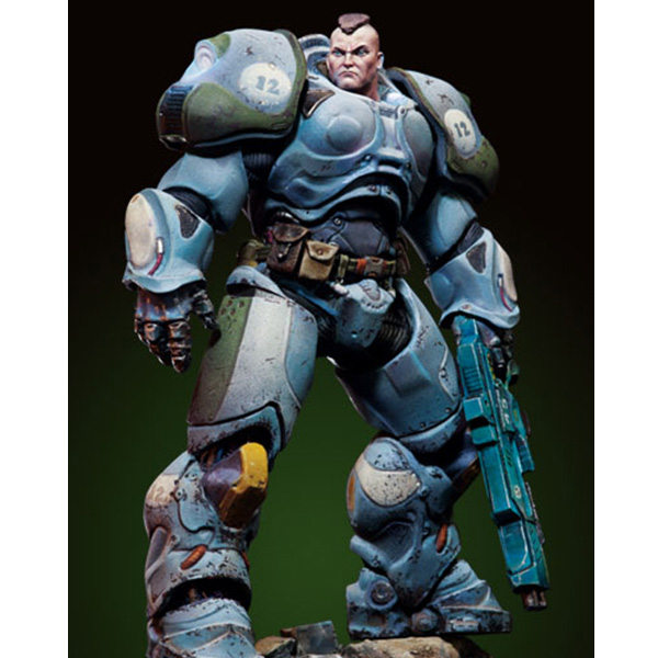 US $16 5 |1/32 Scale 80MM fantasy movie War sergeant Connor Unpainted Resin  Model Kit Figure Free Shipping-in Model Building Kits from Toys & Hobbies