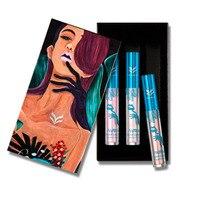 Huamianli 3Pcs Set Waterproof Liquid Lipsticks Moisturizing Lip Sticks Gloss Long Lasting Lip Gross Pigment Cosmetic