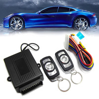 New keyless entry system for universal vehicle car central door lock locking kit metal button for japanese car CHADWICK8176