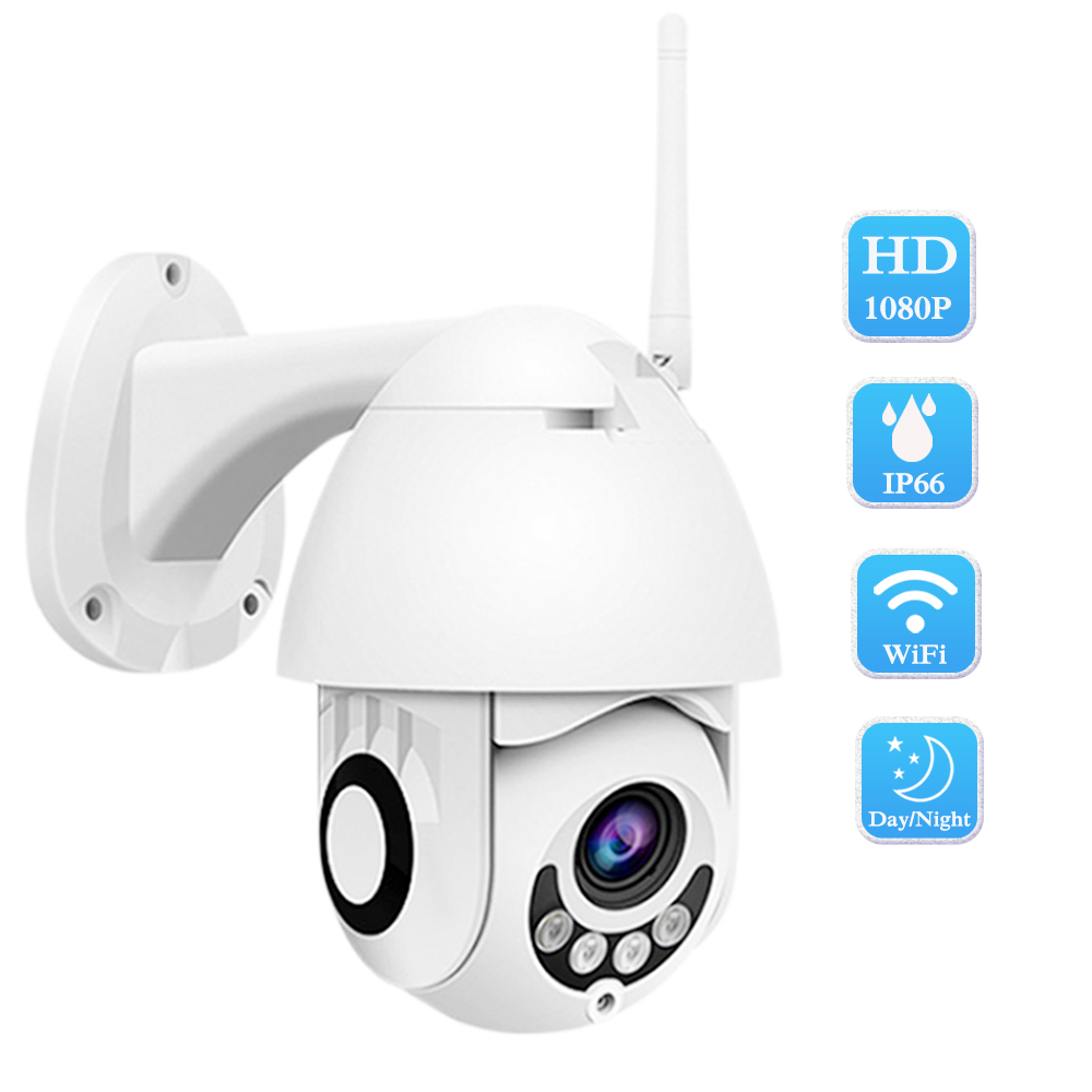 ZILNK Wireless Outdoor IP Camera 1080P 2MP HD IR Night Vision 2 7 Inch Mini Security