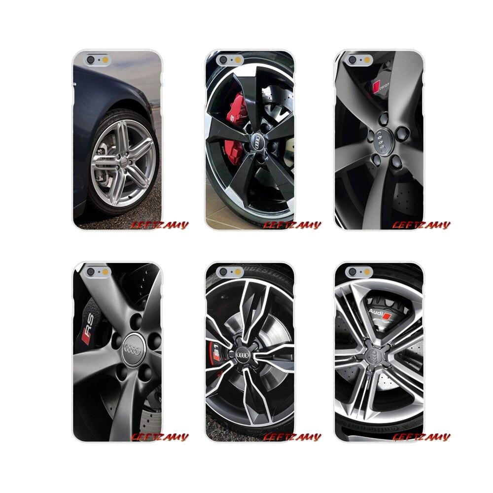 100% QualitäT Heißer Audi Auto Rad Zubehör Telefon Shell Abdeckungen Für Samsung Galaxy S3 S4 S5 Mini S6 S7 Rand S8 S9 Plus Hinweis 2 3 4 5 8