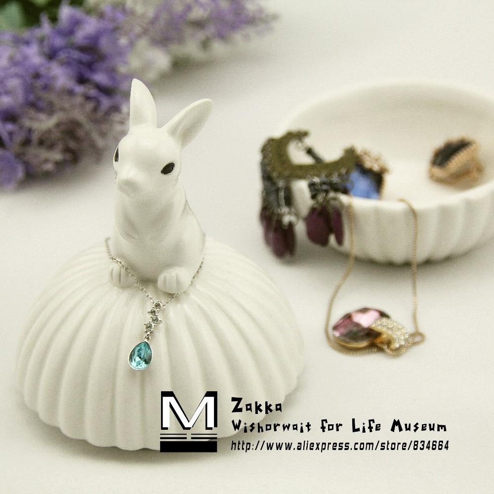1 τεμάχιο Νέο KEYAMA Λευκό Χαριτωμένο ζώο - Οργάνωση και αποθήκευση στο σπίτι