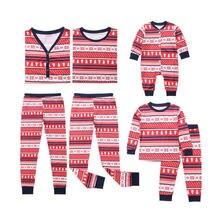 Лидер продаж; Семейные рождественские пижамы для всей семьи; комплект одежды с принтом снежинки и дерева для взрослых и детей; одежда для сна с длинными рукавами; Пижамный костюм