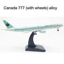 20CM AIR CANADA Boeing 777 Airplane model Plane model 16CM Alloy Metal Diecast  Aircraft model Toy plane gift Dropshipping Store free shipping 31cm boeing 787 livery metal base resin model plane aircraft model toy airplane birthday gift