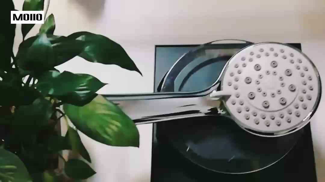 MOIIO Modern Elegant handheld shower headNewest Design Bathroom Rain shower head bathroom accessories ABS Plastic in Shower Heads from Home Improvement