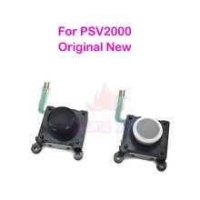 Черно белый Оригинальный Новый левый и правый джойстик, контроллер для Sony PS Vita 2nd Gen PSV 2000, аналоговые джойстики