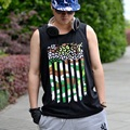 2017 New Style 5XL Famous Brand New Arrival Mens Tank Top High Quality Fitness Singlets Pure Cotton Tanktop Oversized Tank Top