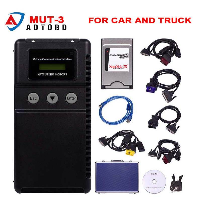 New Arrival Version MUT 3 For Mitsubishi Car and Truck Diagnostic Tool Mitsubishi MUT 3 MUT3