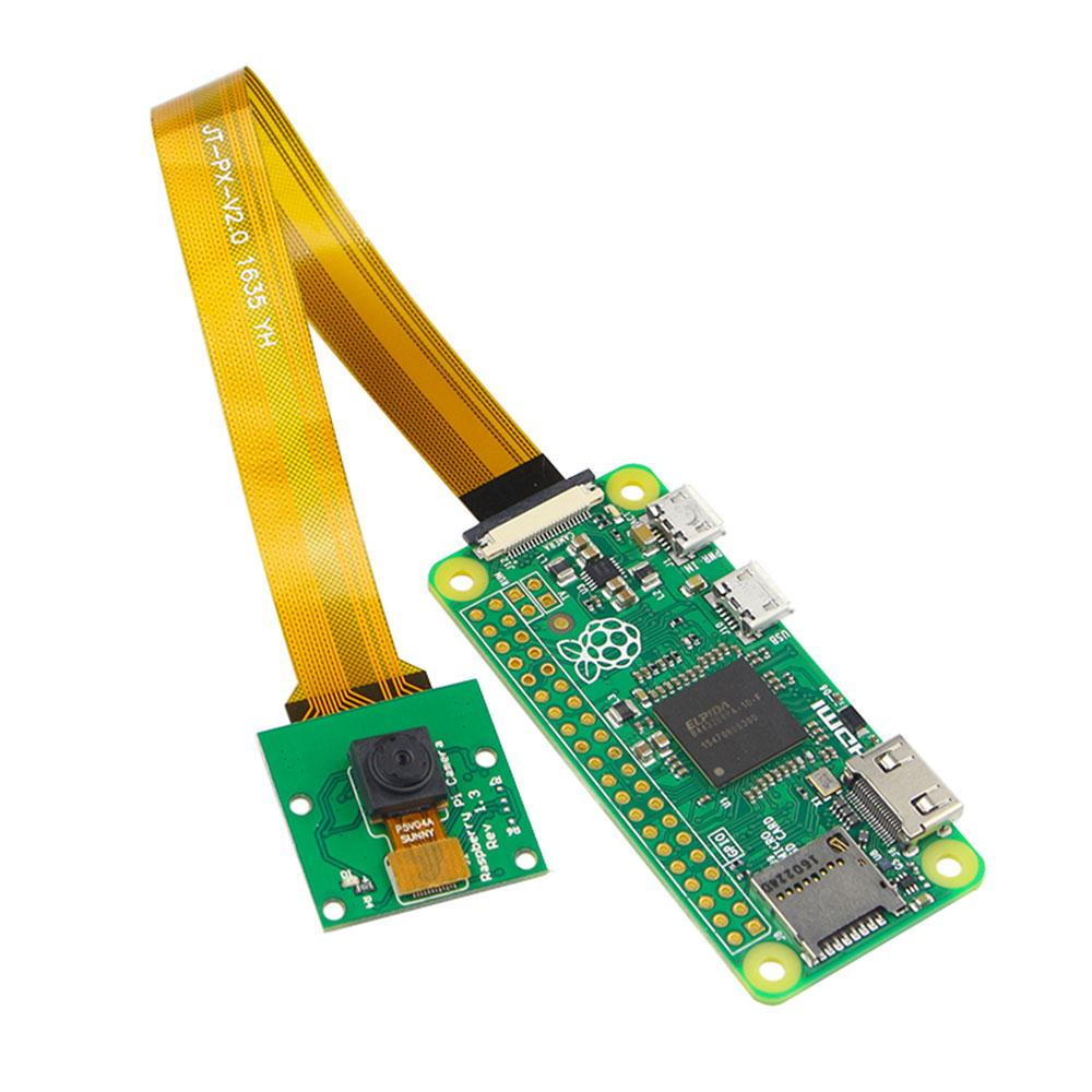 AMZDEAL 5MP Camera Module Circuit Board Panel With Cable Line 15CM For Raspberry Pi Zero