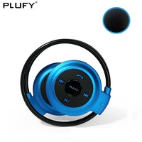PLUFY Sports Bluetooth Headset CSR4 1 Card Bluedio Audifonos Wireless Headphones Stereo Music Earphones Auriculares Inalambrico