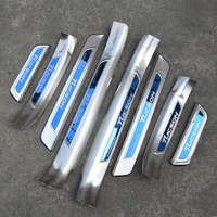 High Quality Stainless Steel scuff plate door sill Trim For Hyundai Tucson 2015 2016 2017 2018 2019 Car Accessories Car styling
