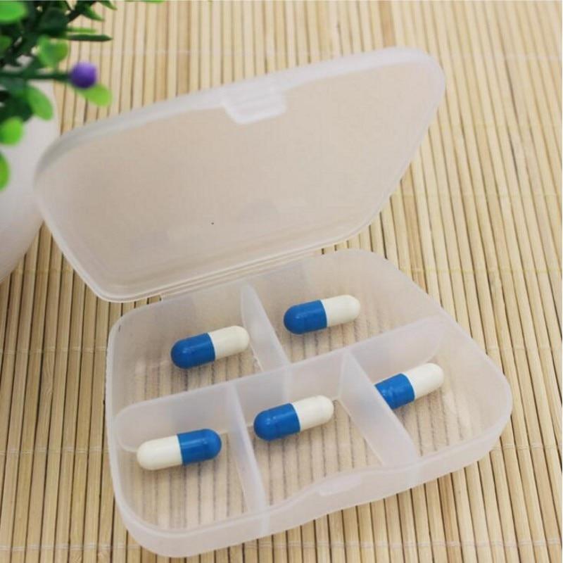 Творческие таблетки многофункциональный большой емкости Портативный путешествия организации рабочего стола прозрачный Пластик коробка д... ...