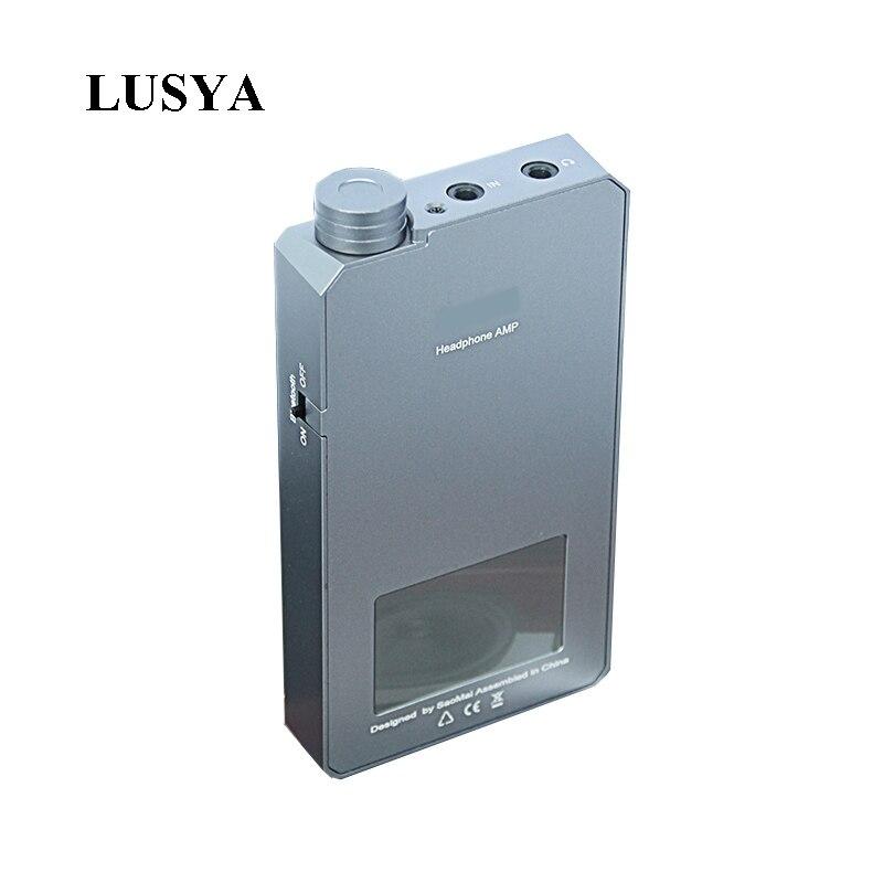 Lusya CSR8675 Bluetooth 5,0 APTX-HD Tragbare amp ES9038Q2M dac TPA6120 Kopfhörer Verstärker 1000 mW/32 ohm 150 mW/ 300 ohm G3-003