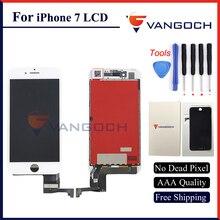 3 шт. Бесплатная доставка DHL AAA Качество НЕТ dead pixel Дисплей для iPhone 7 ЖК-дисплей Замена с 3D сенсорный экран Экран