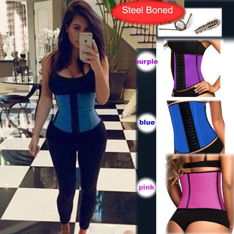 hot-shapers-body-shapers-waist-trainer-waist-training-vest-latex-waist-cincher-latex-waist-trainer-steel