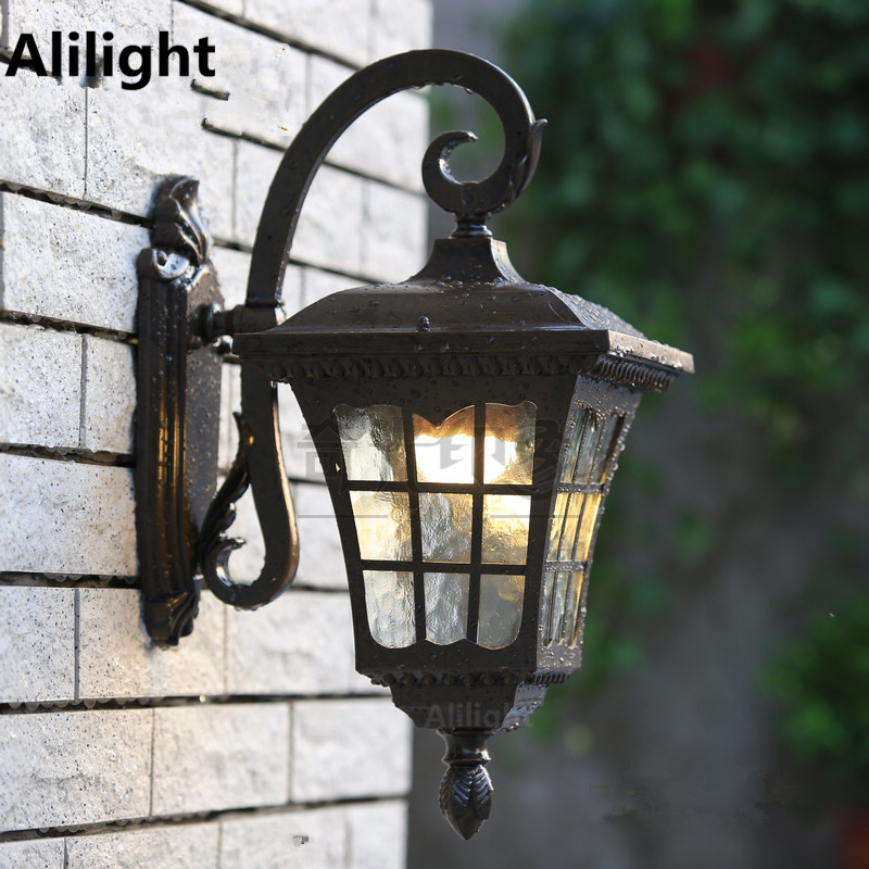 High Quality Outdoor Lighting Vintage Wall Lights Fashion Porch Lamps Waterproof 12w E27 Led Balcony Garden Sconces In