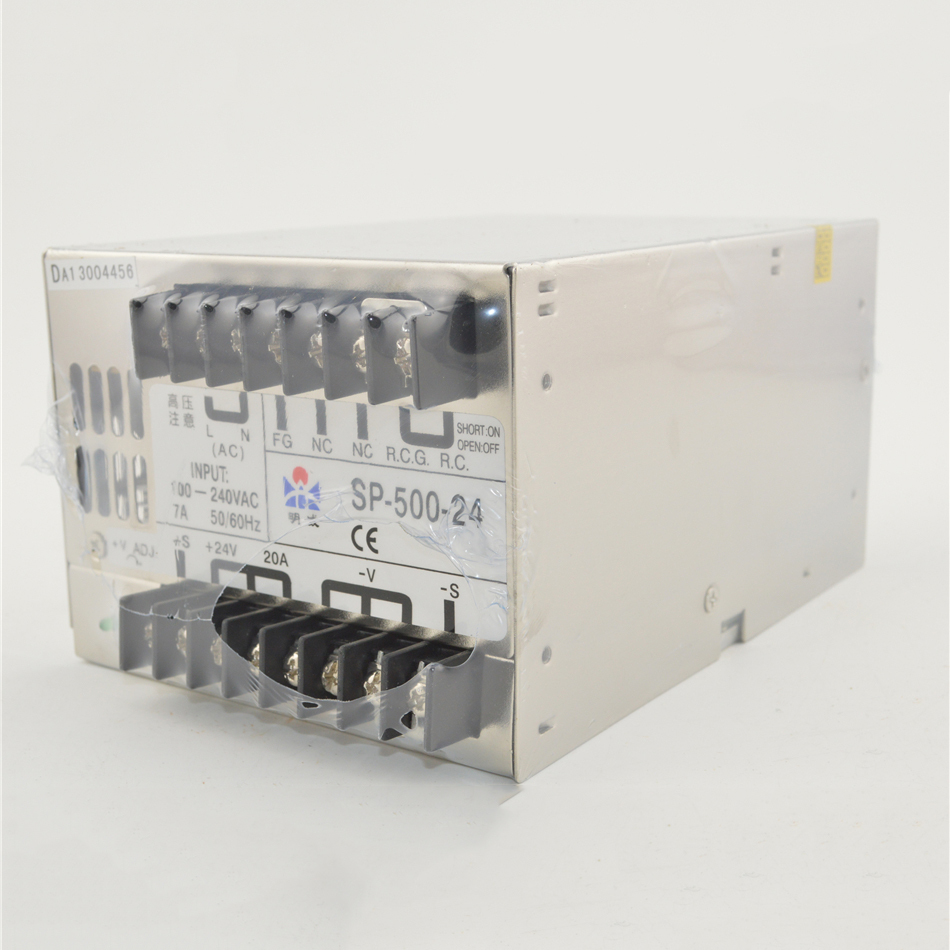 ac to dc 500W 12v 40A SP-500-12  SP series PFC 85-264Vinput PFC Ied driver source switching power suppIy voIt