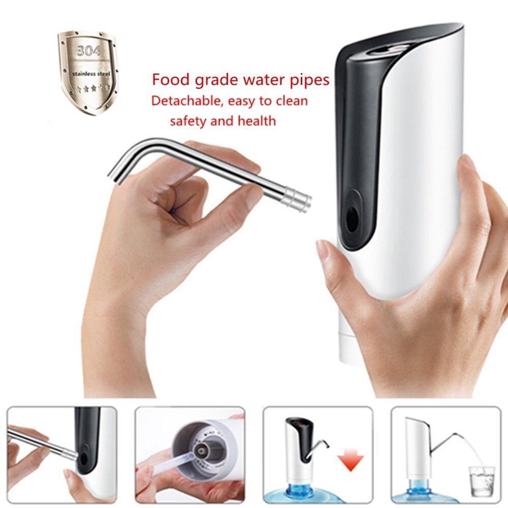 Автоматический насос для питьевой воды, электрический Универсальный насос для бутылок с водой, диспенсер с адаптером 5 галлонов, диспенсер