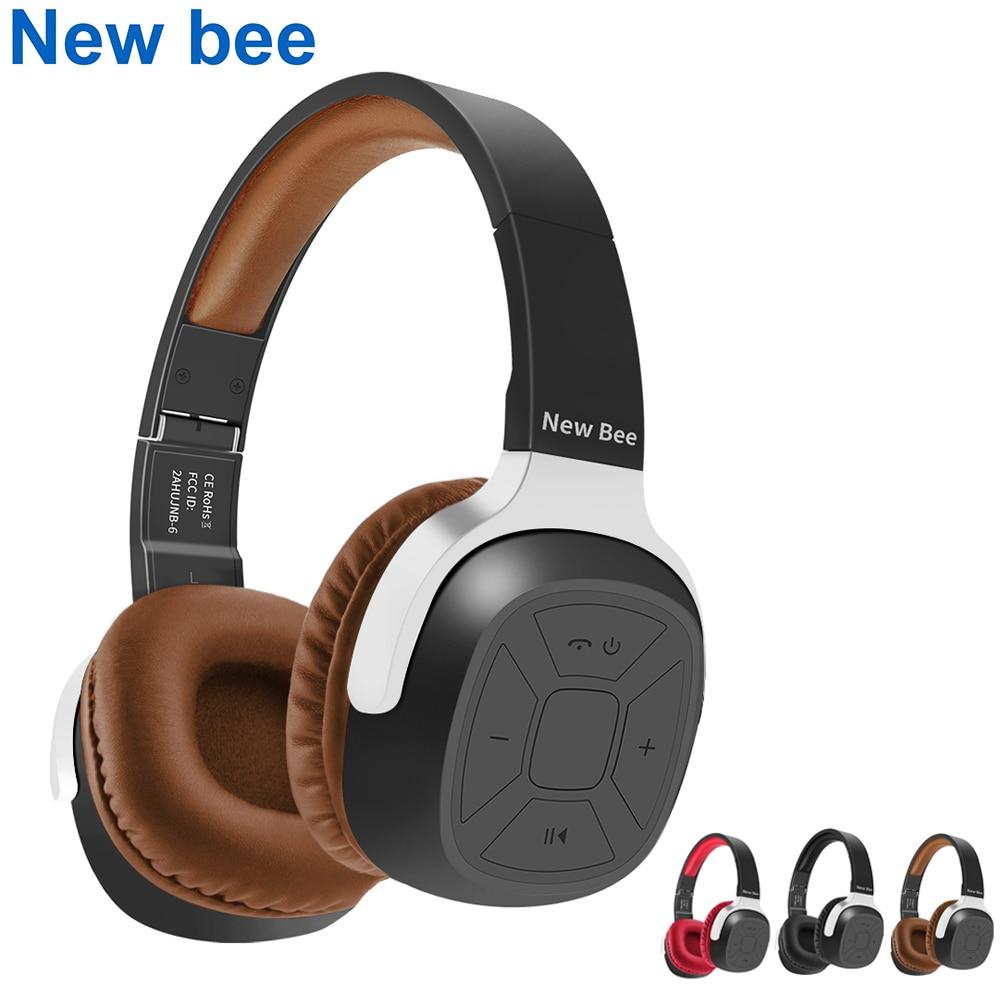 Yeni arı kablosuz bluetooth kulaklık Stereo taşınabilir klasör kulaklık  kulaklık spor uygulaması mikrofon NFC telefon bilgisayar için TV|headset  earphone|bluetooth headphonewireless bluetooth headphones - AliExpress