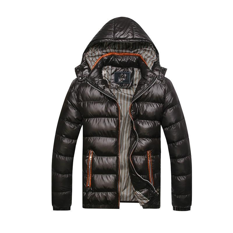 Male Clothes Winter Coat Men   Parkas   Casual Slim Coats & Jackets   Parka   Men Hooded North Facce jacket Men   Parka   Hombre Overcoats