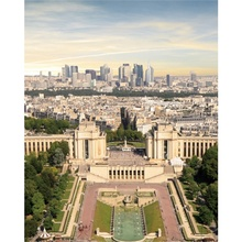 Laeacco Canvas Calligraphy Painting Paris View from Top of Paris Tower Posters and Prints Wall Pictures Living Room Home Decor top posters холст золотой мустанг top posters 50х75х2см b 714h