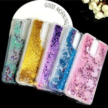 JFWEN For Huawei Mate 10 Lite Case Cover Liquid Glitter Silicone Back For Case Huawei Mate 10 Lite Cover Soft TPU Phone Cases
