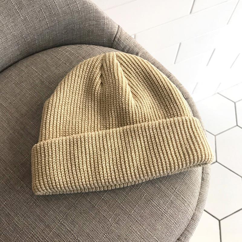 52433a16a Hot Sale] Winter Warm Knitted Skullcap Casual Short Thread Hip Hop ...