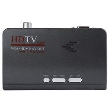 Mayitr Nouveau HDMI Numérique terrestre TV 1080 P Plug UE Sans VGA Version DVB-T/T2 TV Box AV CVBS récepteur Télécommande