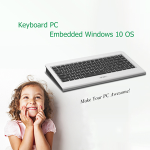 Image 4 - K600 N6 Unique All in one Keyboard PC Embedded Mini PC Windows Support 1080P HDMI Display Portable PC 2GB 64GB Desktop Computer