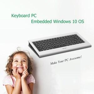 Image 4 - K600 N6 benzersiz All in one klavye PC gömülü Mini PC Windows desteği 1080P HDMI ekran taşınabilir PC 2GB 64GB masaüstü bilgisayar
