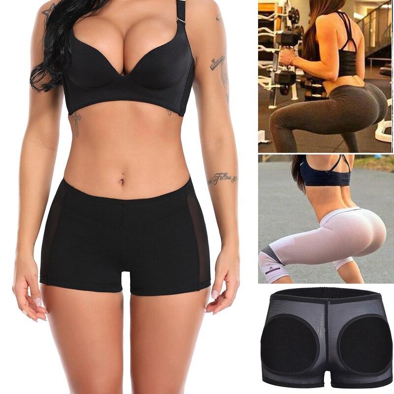 Plus Butt Lifter Corrective Underwear Briefs for Women Waist Trainer Body Shaper Control Panties Sexy Ass Lift Up Panty Short US in Control Panties from Underwear Sleepwears