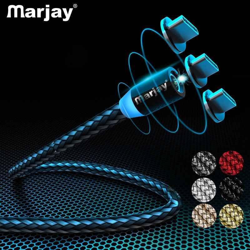 Marjay USB Tipe C Kabel Pengisian Cepat Usbc Kabel Tipe C untuk Xiao Mi Mi 9 8 Samsung S10 s9 S8 OnePlus 6 T 6 USB-C Charger