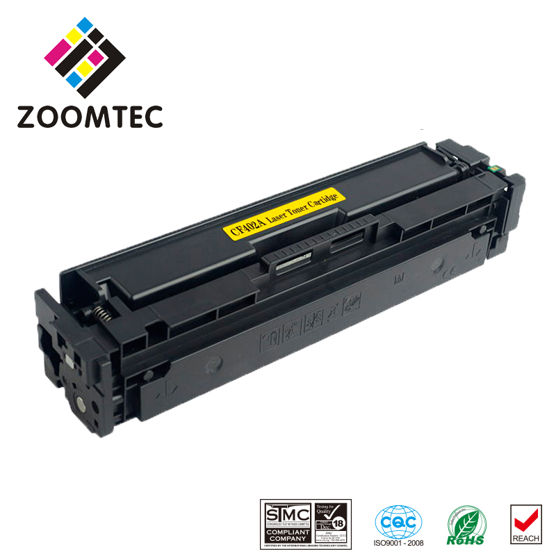 1PC Yellow 201A 201 CF402A cf402 402a 402 Toner Cartridge Compatible For HP Color LaserJet Pro CP1025NW M275FP M252dn M277dw 252 hp color laserjet pro cp1025nw airprint