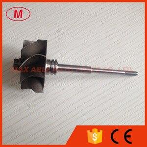 Image 2 - TD04HL  45.65/52mm 9 blades turbo wheel/ turbine shaft&wheel
