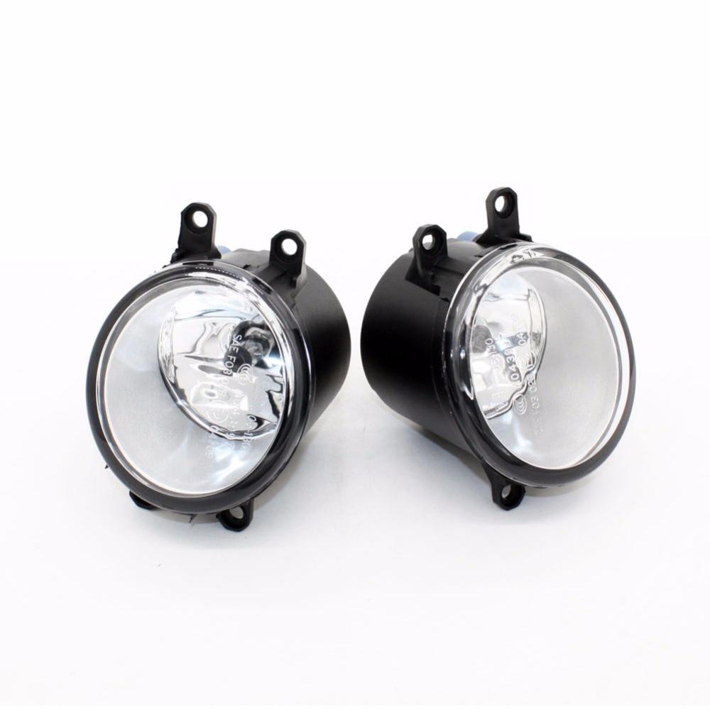 Front Fog Lights for Toyota COROLLA Saloon (E15_) 2007-2013 12V 55W Auto Lamp bumper Car H11 Halogen Light Bulb Assembly