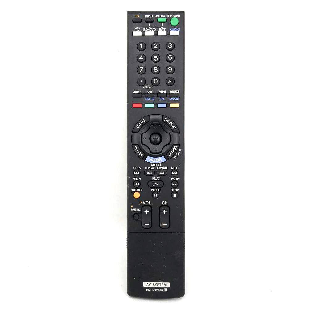 Used Original For Sony RM-ANP009 Audio/Video Receiver Remote Control RMANP009 REMOTE CONTROLLER RHT-S10 RHTS10 HOME THEATER домашний кинотеатр sony rht g10 black