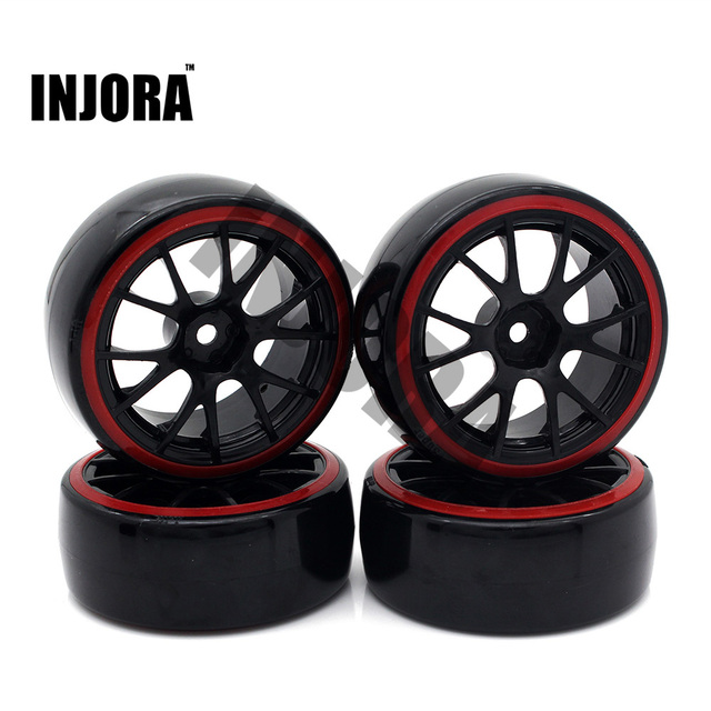 Buy Injora 4pcs 1 10 Drift Car Tires Hard Tyre