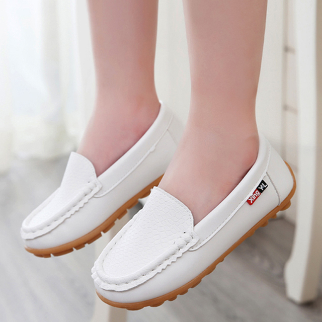 NEW SEASON Candy Color Loafers For 0-12 Years Baby/Children Shoes Spring/Summer PU Leather Shoe Wholesale Girls Boys Shoe A02152