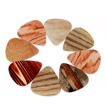 10pcs/Lot 0.71mm thickness guitar strap guitar parts Accessories The new wood-selling guitar picks