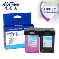 Re Manufactured Ink Cartridge Color Replacement For HP 301 301xl Cartridges Black DeskJet 1050 2050 3050