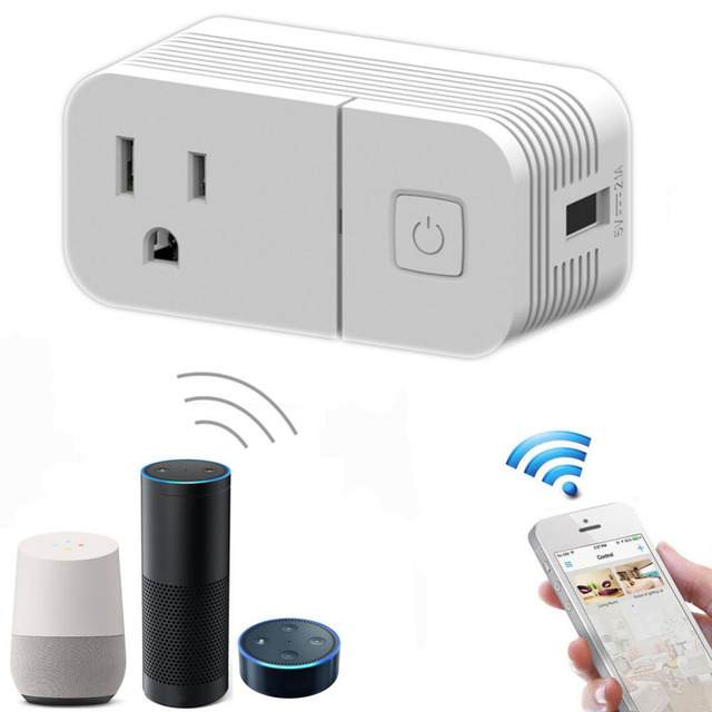 Smart Home Wifi Wireless Outlet Timer Plug Socket Remote Control ...