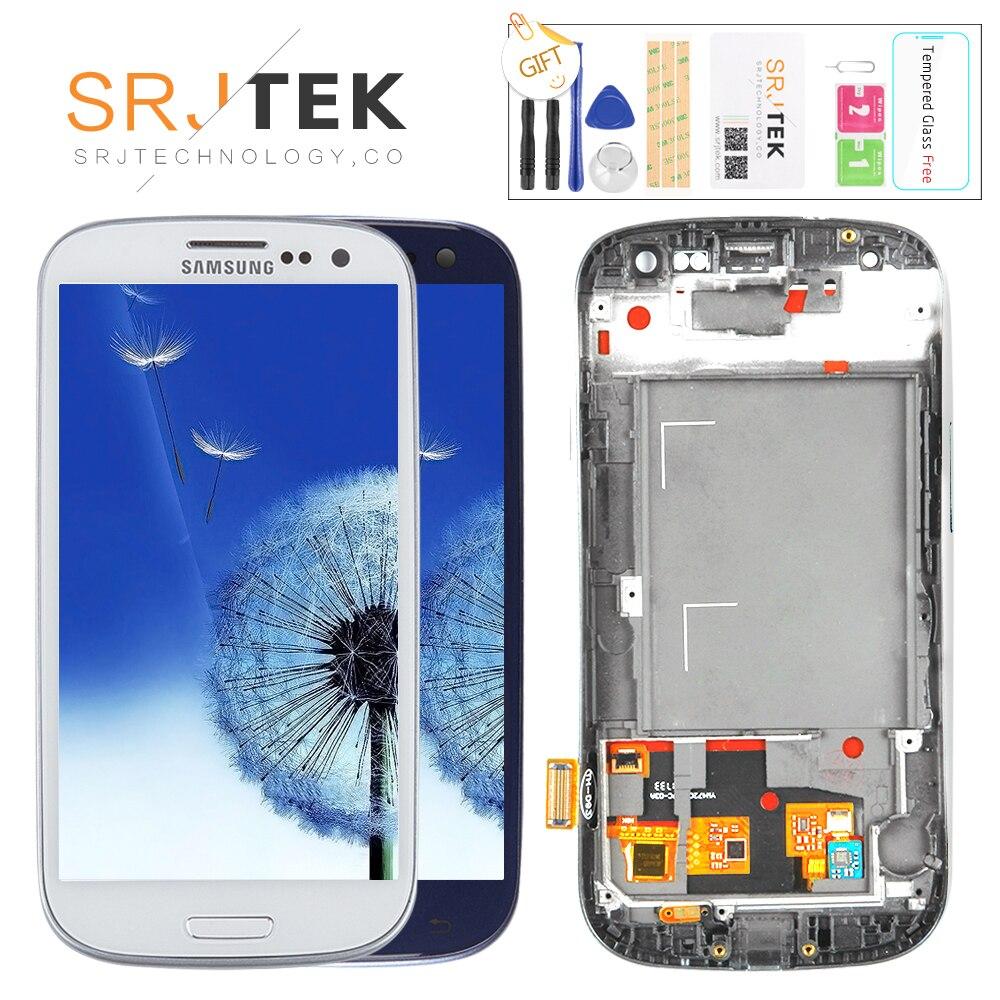 GETESTET Für SAMSUNG Galaxy S3 Display i9300 i9300i Touchscreen Digitizer Ersatz Für SAMSUNG Galaxy S3 LCD Bildschirm