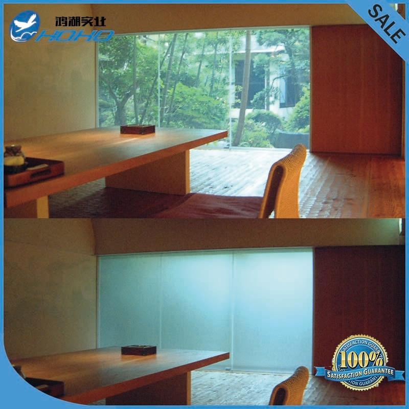 Commutable verre intelligent/smart verre film/smart film pour partition/fenêtre/porte/salle de douche - 2