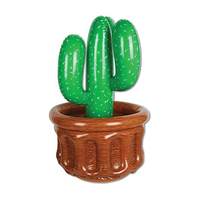 72cm Cactus Ice Bucket Beer Pong Drink Holder Beach Party Cooler 2018 Newest Inflatable Coasters Kid Adult Beverage Water Toys