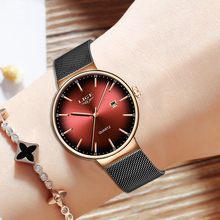 2019 NEW LIGE Fashion Watch Women Luxury brand business Quartz Watch Waterproof Women Watches Ladies Reloj Mujer Montre Femme