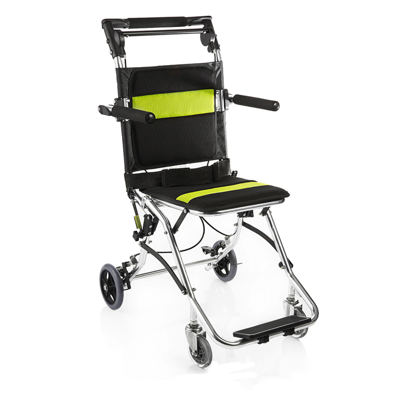 Yuwell Manual Wheelchair Lightweight Folding Portable Foldable for ...